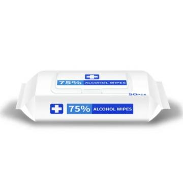Manufacturer_China Wet In Stock Printed Logo Wet Wipes Tissue Paper Bamboo Non Woven Disenfecting Wipes For Wipes