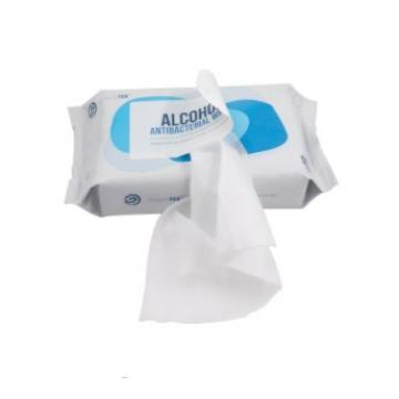 Disinfectant 75%alcohol Antibacterial Hand Sanitizing Cleaning 100pcs Barrel Wipes