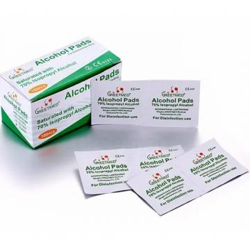 70% Isopropyl and 70% Ethanol Alcohol Prep Pads