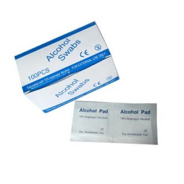 Factory Best Price Alcohol Prep Pads with 70% Isopropyl