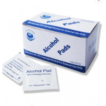 Factory Cheap Price Alcohol Pads with 70% Isopropyl Alcohol