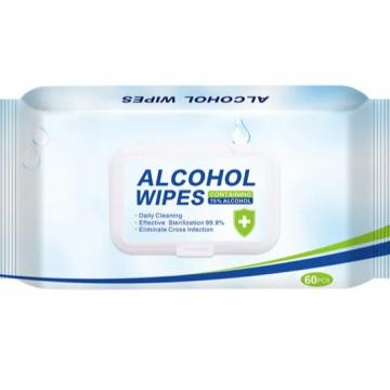 High Efficiency Non Woven 70% Alcohol Pads Isopropyl Alcohol Wipes