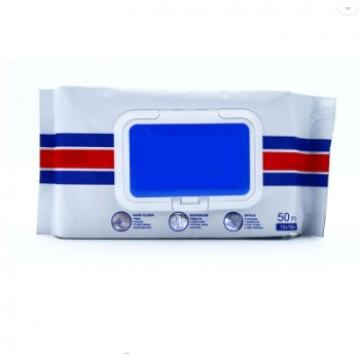 HUAYU Custom Packaging 75% Medical Alcohol Towel Cleaning Wipes Disinfectant Wipes
