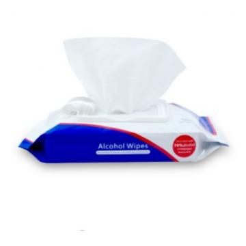30 pc Customized wholesale non-woven antiseptic wet wipes antibacterial alcohol wet wipes towelettes alcohol