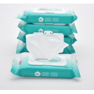 Alcohol Antibacterial Wipes and Household Disinfectant Cleaning Wipes