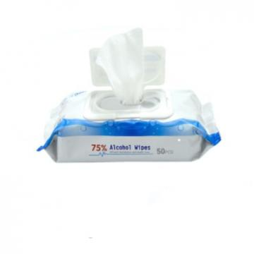 Antibacterial Cleaning Home Office Travel 75% Alcohol Wipes