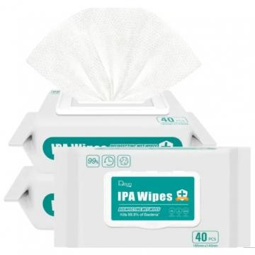 Private Label Soft Pack 70% Ipa Antibacterial Wipes