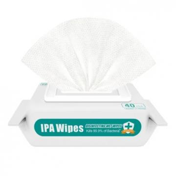 2020 Chinese Manufacturer Private Label 70% Ipa Isopropyl Alcohol Disinfectant Wipes