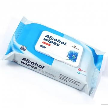 Antiseptic Wet Wipes Antibacterial Kill Germs and Virus With Alcohol