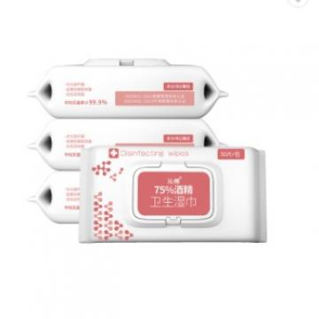 alcohol antibacterial pocket size wet wipes packet