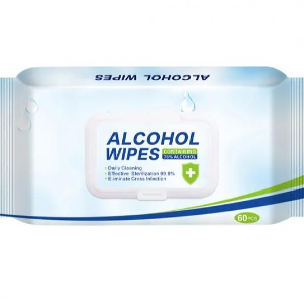Disposable 70% Isopropyl Wet Wipes #1 image