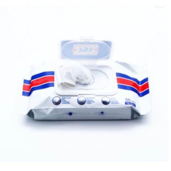 Gym wipes antibacterial hand sanitizing wipes alcohol free hand disinfectant wipes in big bucket #2 image
