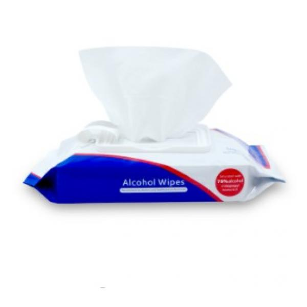 Surface Antibacterial Single Packed 75% Alcohol Wipes #2 image