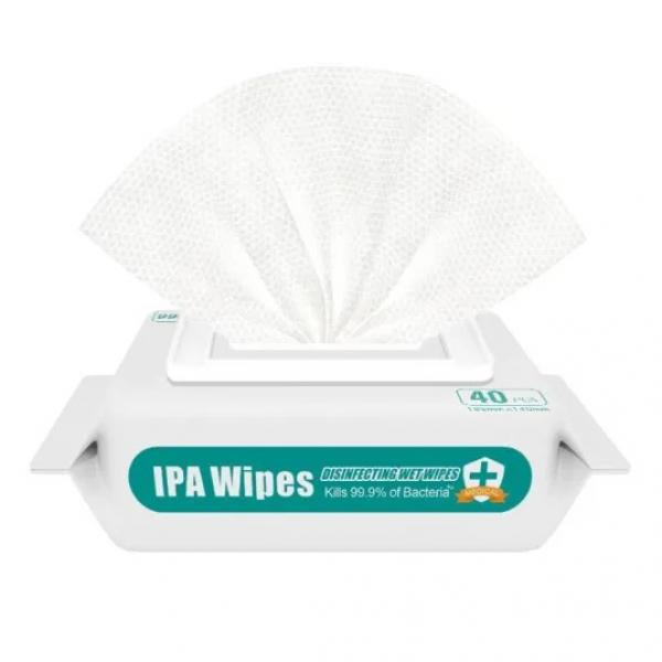 Ipa 70% Private Label Isopropyl Alcohol Disinfectant Wipes #1 image