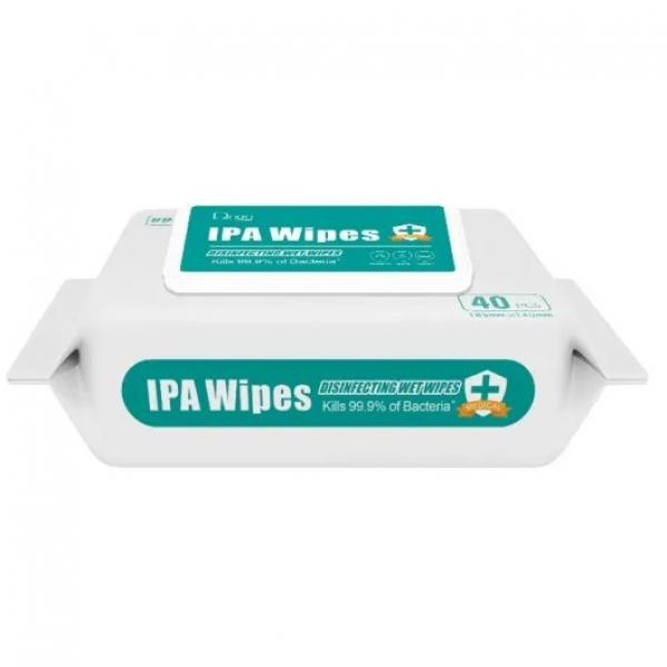 Customized 100PCS 70% Ipa Antibacterial Household Surface Cleaning Wet Wipes #1 image