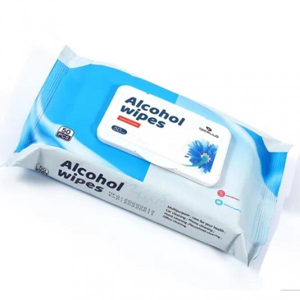 Safety Ensured Rolhei 75% Ethanol Wet Wipe Keep Surfaces Clean Fight Dirt For House and Workplace #1 image
